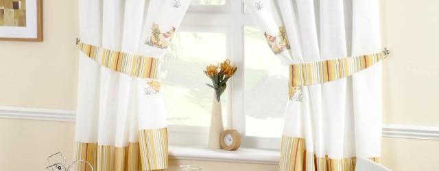 шторы для кухни с рисунком