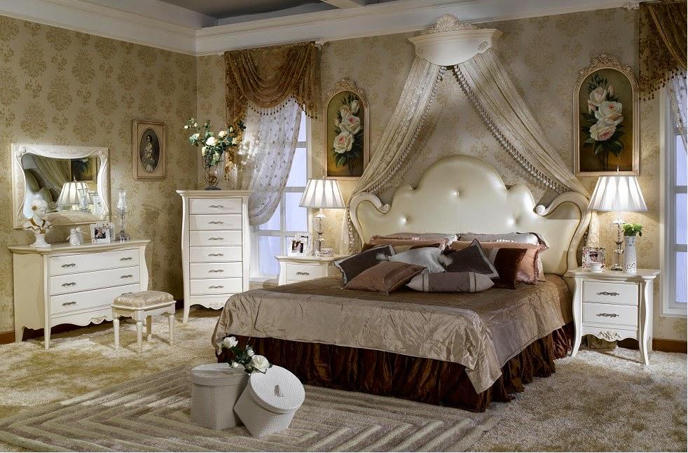 спальня в французском стиле