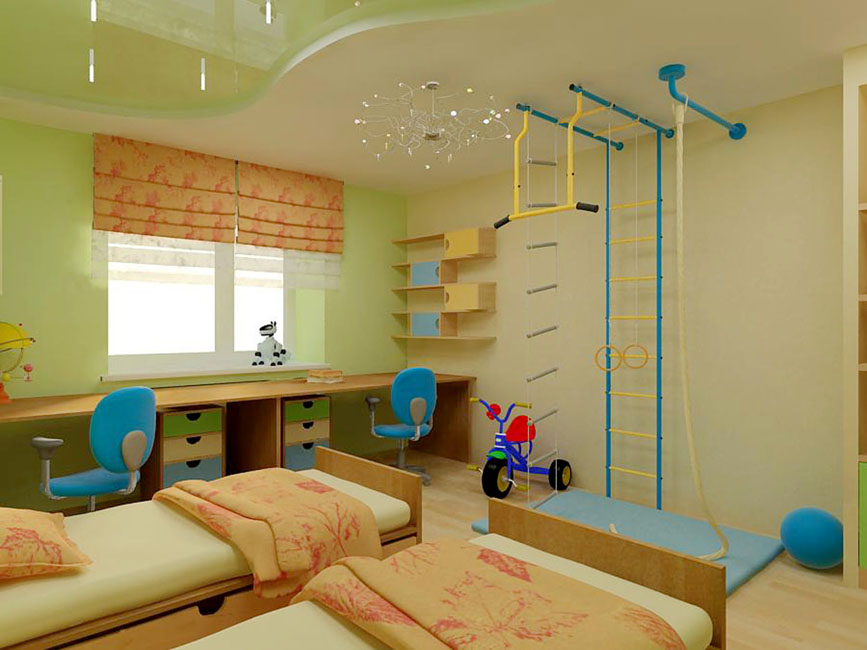 Setting up a children's room for two children