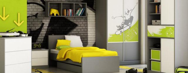 детская комната в стиле хай-тек