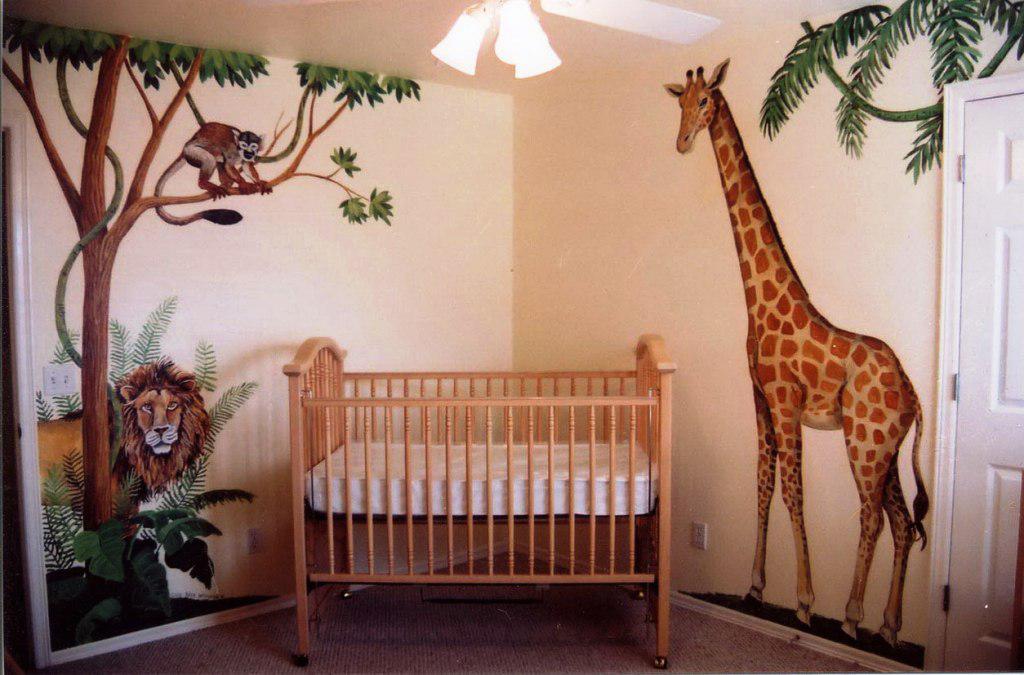 детская в африканском стиле