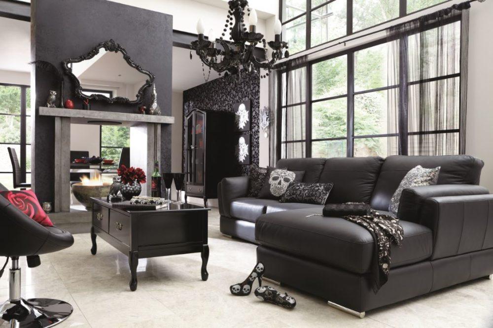 гостиная в готическом стиле