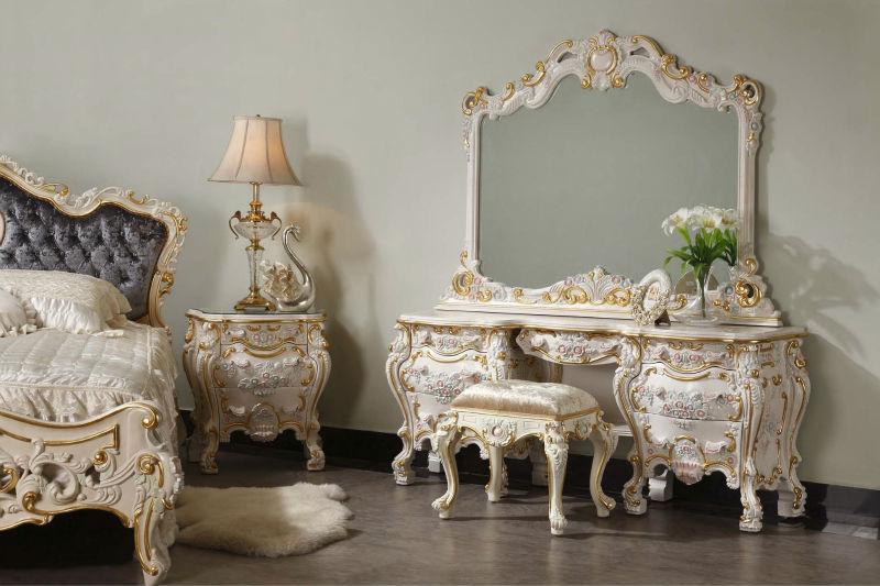 характерная мебель для стиля рококо