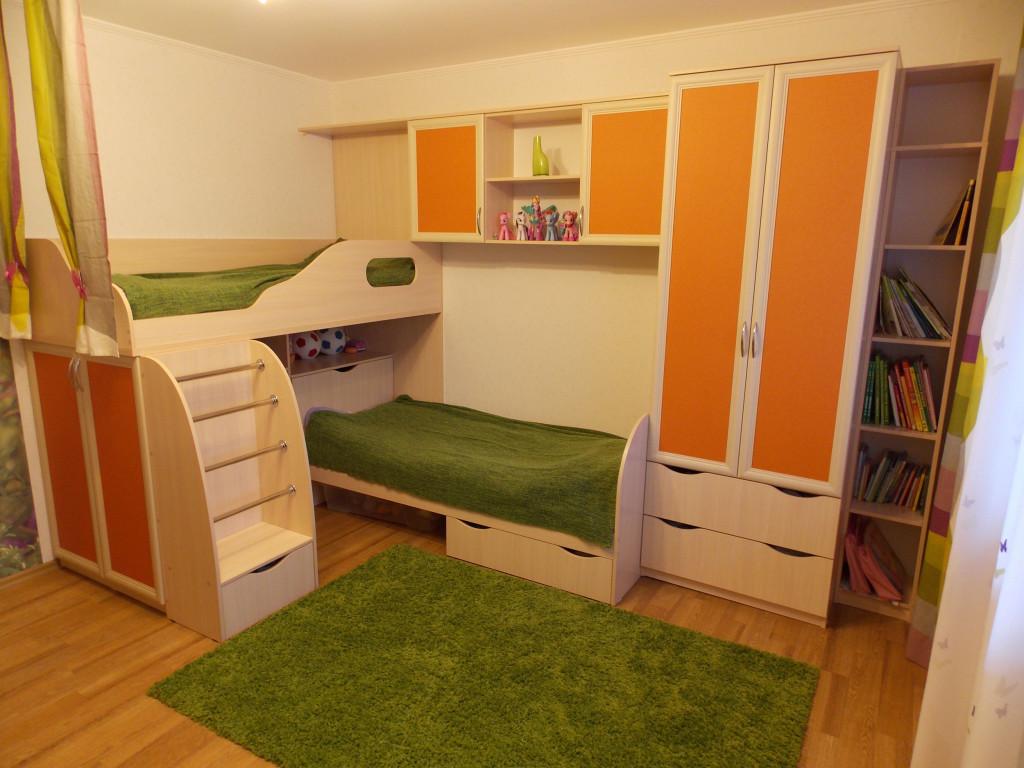 Дизайн детской комнаты для разнополых детей (52 фото) 31