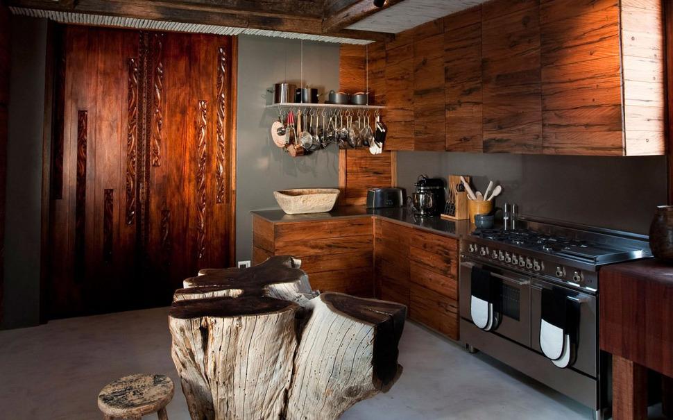 кухня в африканском стиле