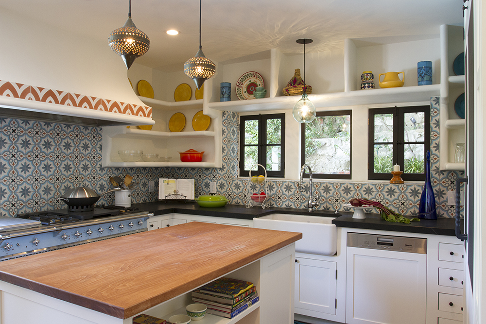 for Moroccan inspired kitchen design