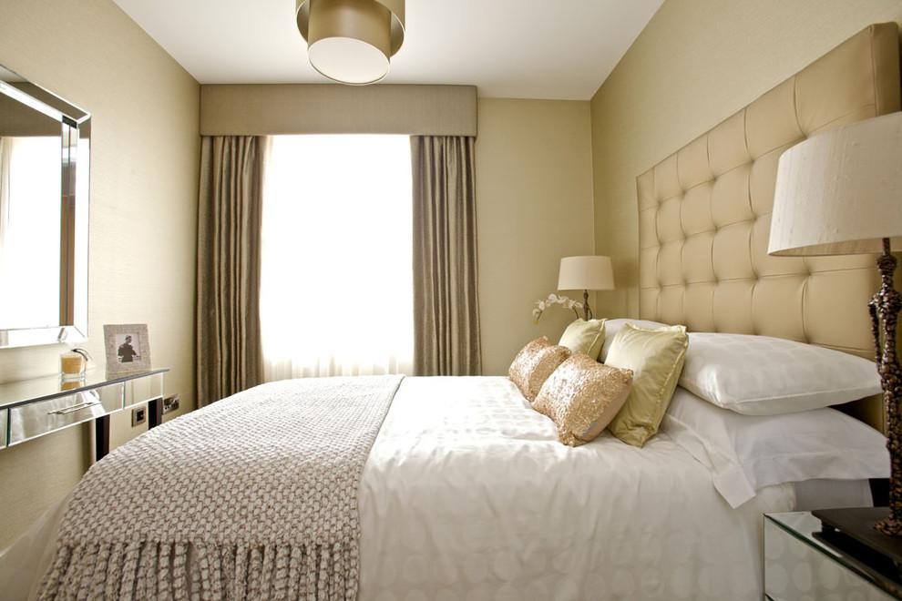 спальня 12 кв. м. в светлых тонах