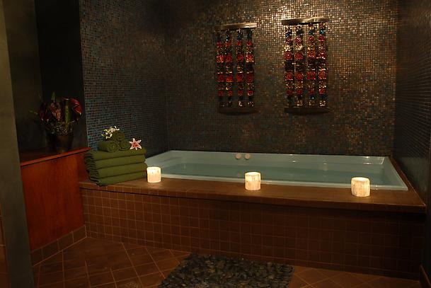 Изысканная индийская ванная комната