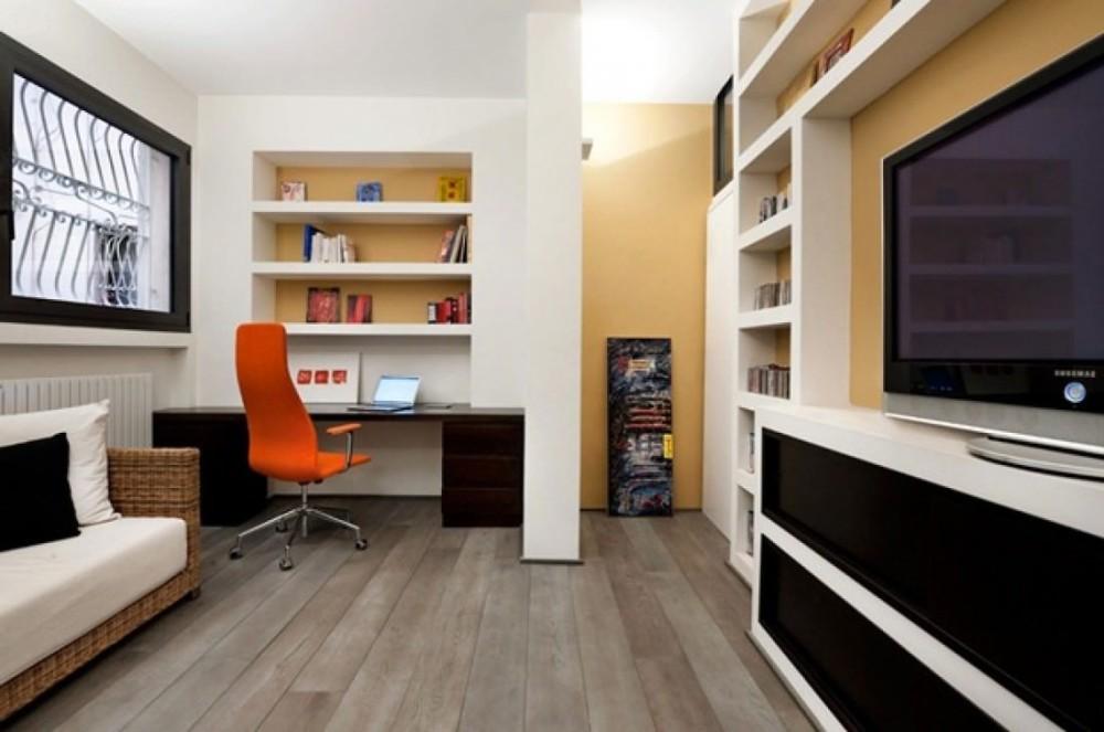 Дизайн кабинета в минималистичном стиле