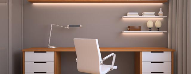 Кабинет в квартире в стиле минимализм