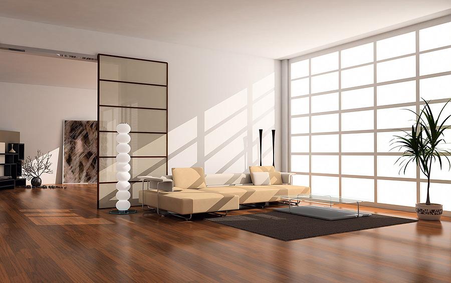 Минималистичная комната в японском стиле