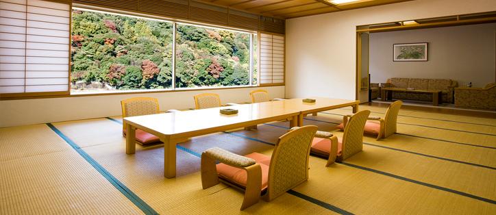 Просторная комната в японском стиле