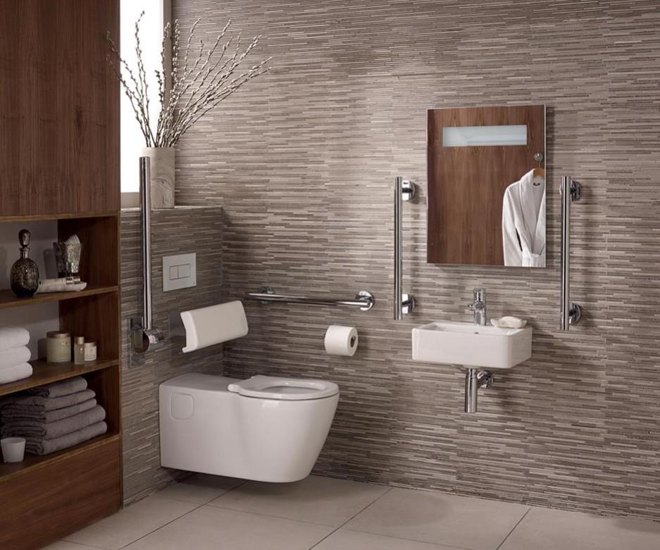Ванна совмещенная с туалетом со шкафчиком