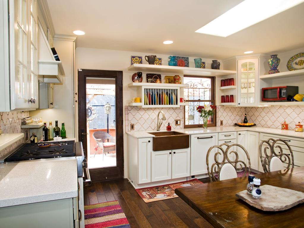кухня в эклектическом стиле