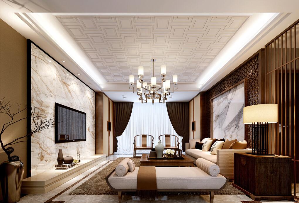 светлая комната в китайском стиле