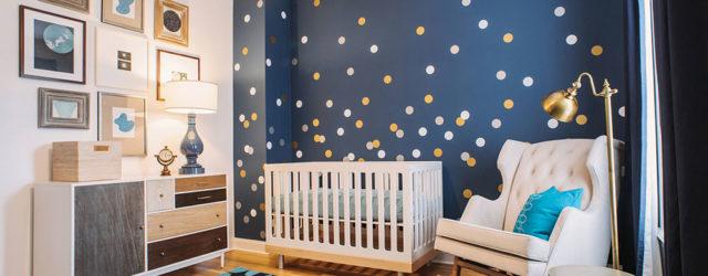 дизайн детской для новорожденного мальчика