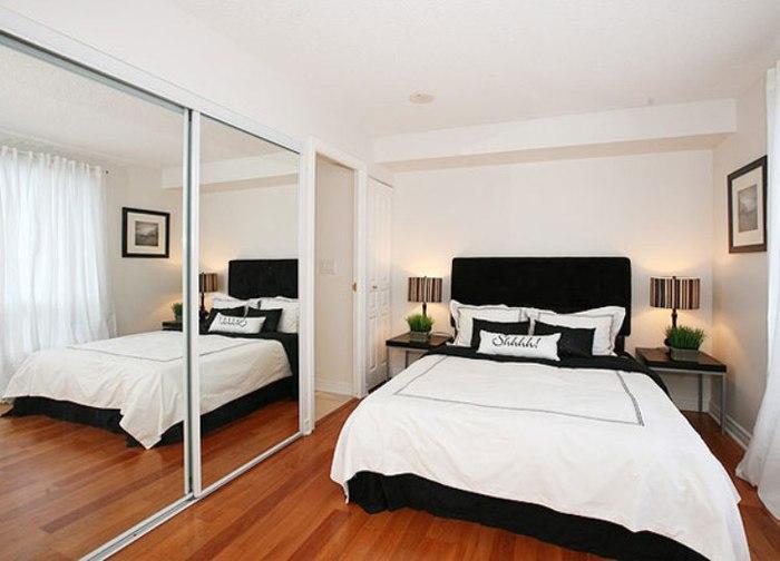 дизайн небольшой спальни в стиле минимализм