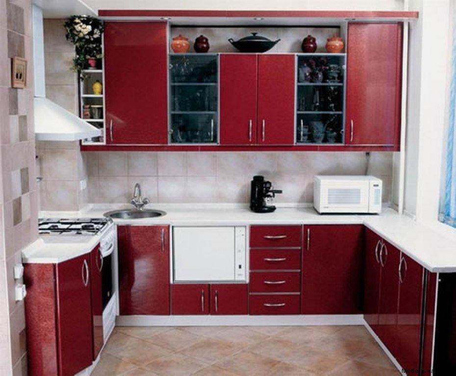 п-образная кухня 6 кв. м.