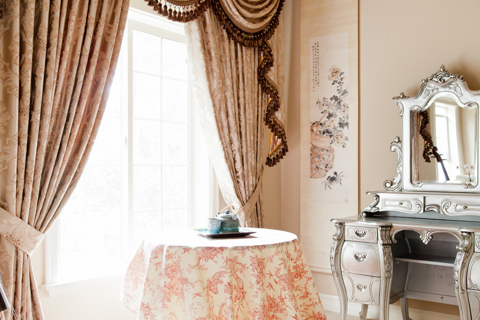 шторы в стиле барокко